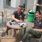 2016, AMICI, Ausfahrt, Eiscafe Corazza, Lenkwerk Bielefeld, Matz Schildt, Terry