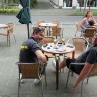 2016, AMICI, Ausfahrt, Eiscafe Corazza, Lenkwerk Bielefeld, Matz Schildt