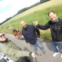 AMICI, Ausfahrt, Carsten Hebrock, Terry, Tim Doliwa